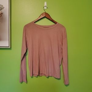 Everlane Size S Dusty Rose Top